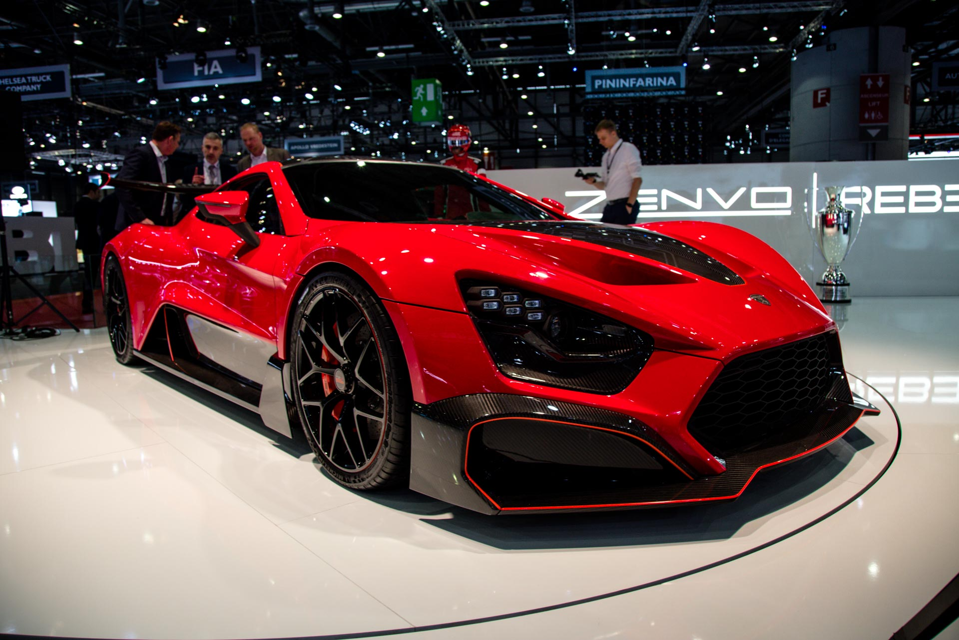 Zenvo At The Geneva Motor Show GTspirit - Geneva car show