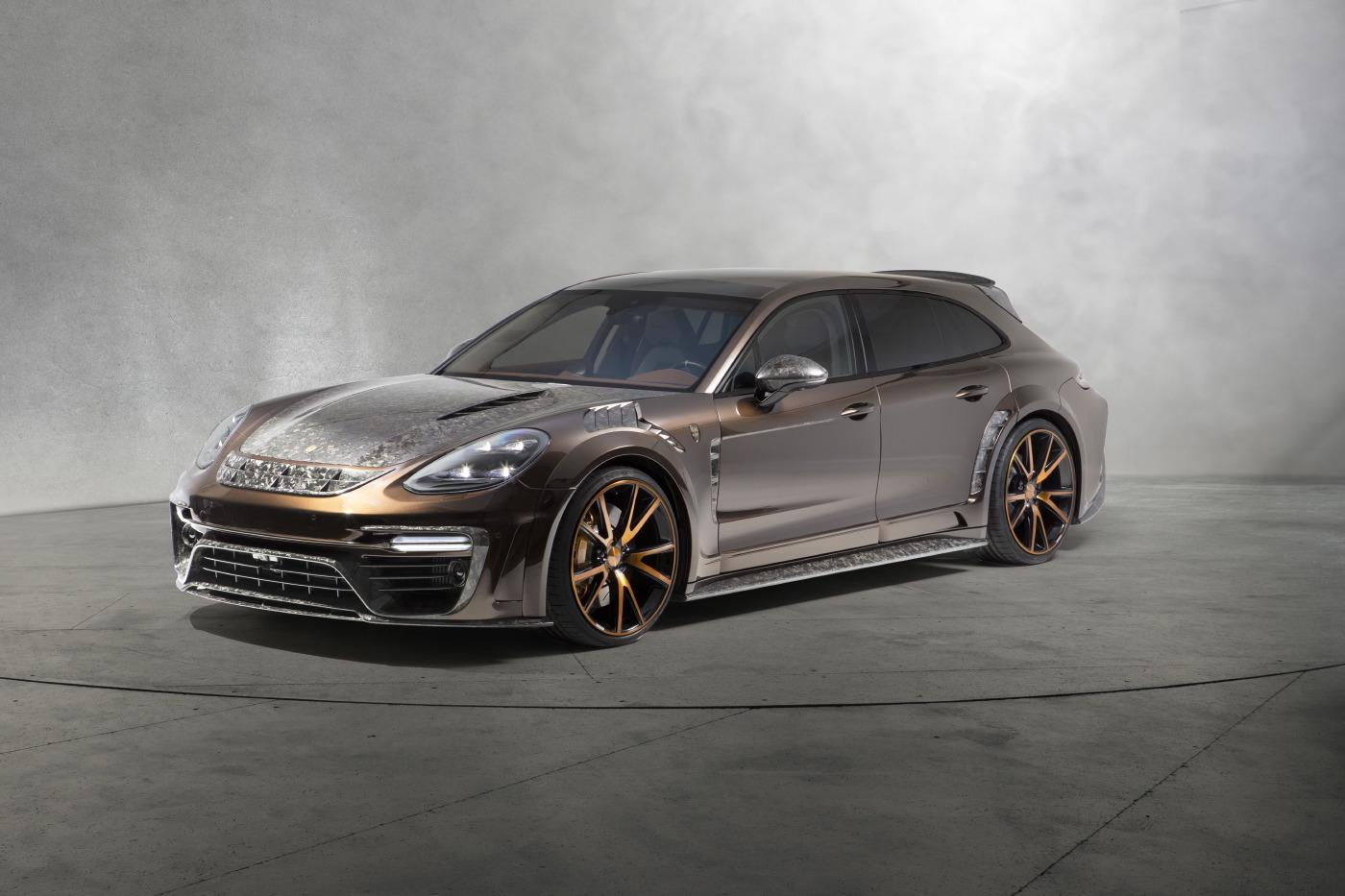 Official Mansory Porsche Panamera Sport Turismo Gtspirit