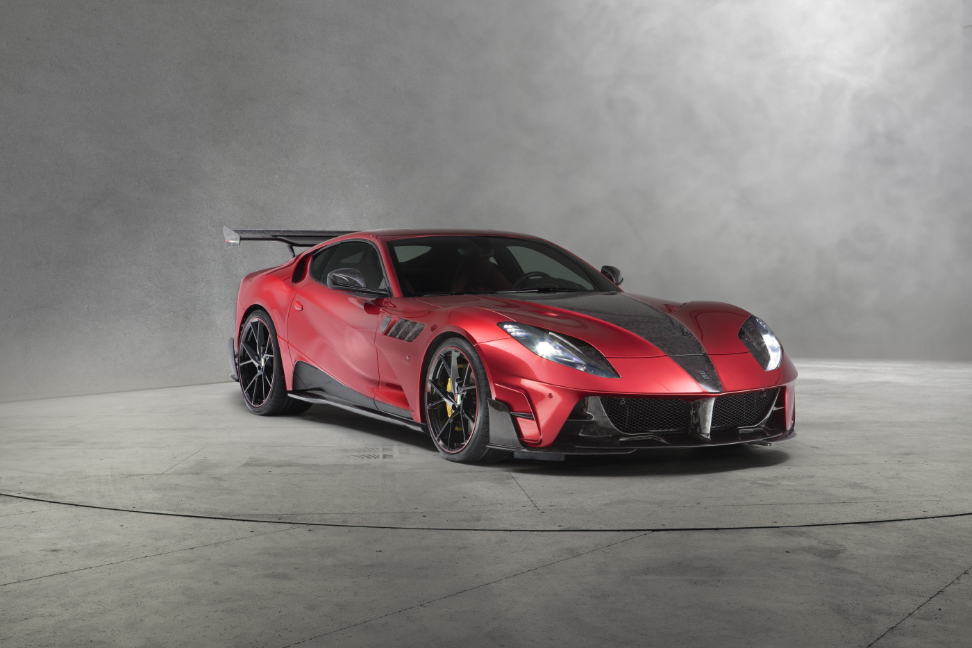 Official Mansory Stallone Ferrari 812 Superfast Gtspirit