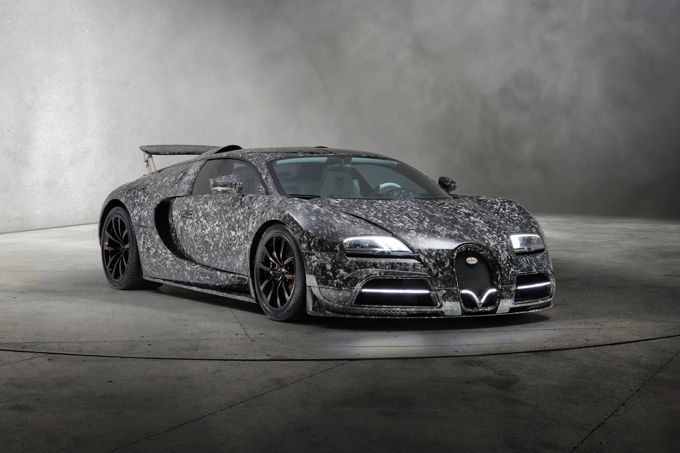 Official Mansory Bugatti Veyron Vivere Gtspirit