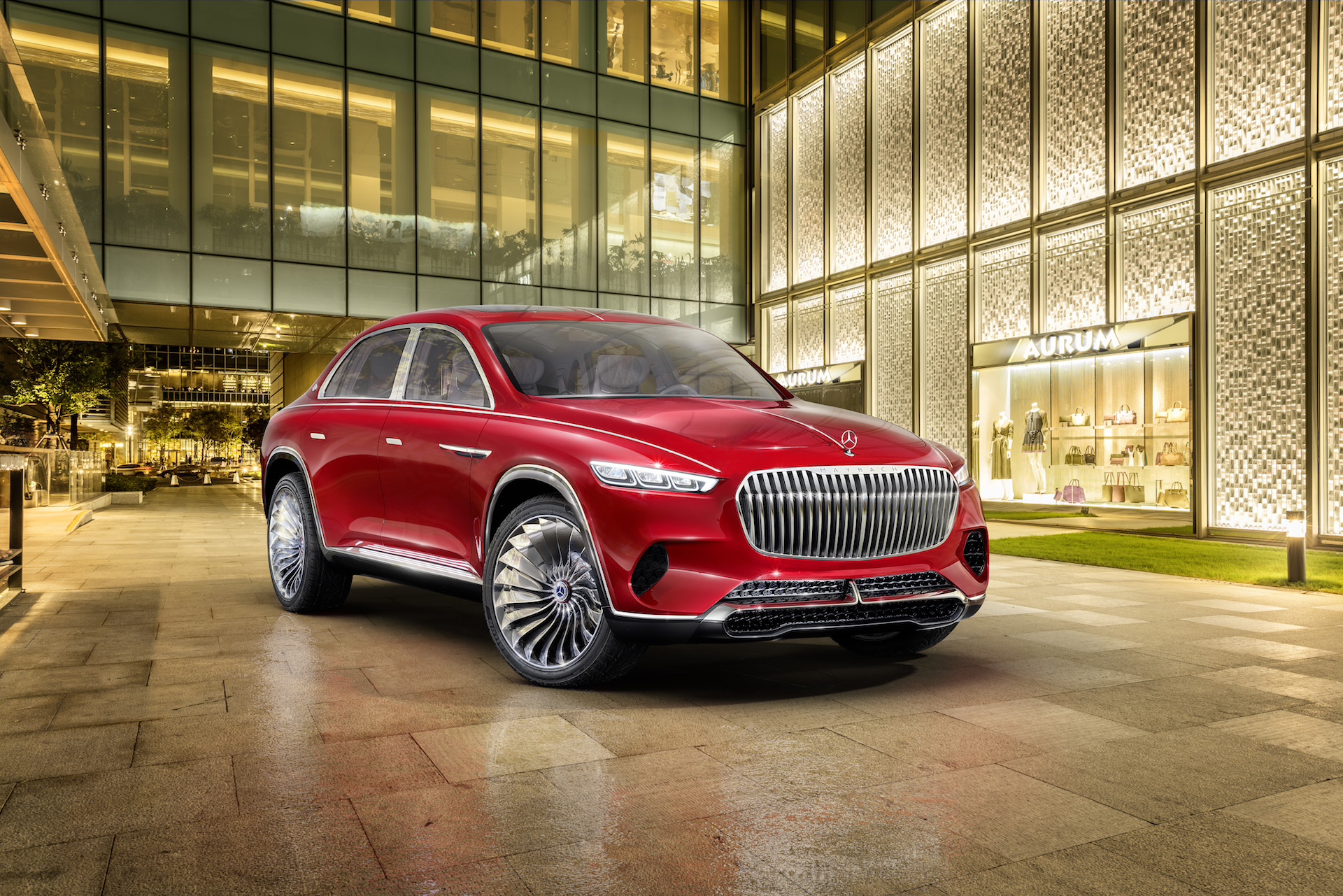 Official: Mercedes-Maybach Ultimate Luxury Concept - GTspirit