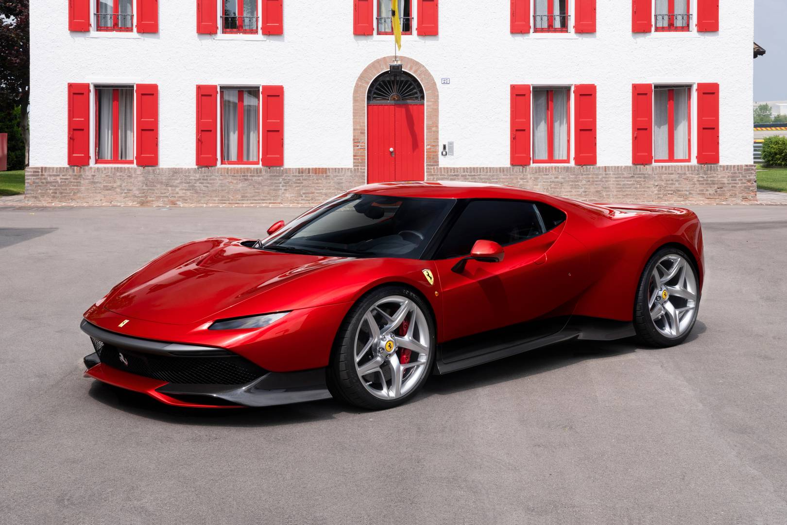 Official: 1 of 1 Ferrari SP38 Based on 488 GTB - GTspirit