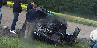 Koenigsegg Agera RS Gryphon Crashed