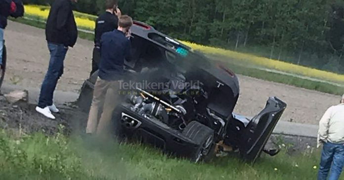 Koenigsegg Agera RS Gryphon Crashed