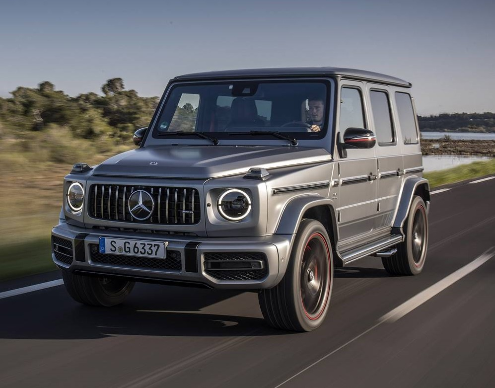 2019 mercedes benz g500 g63 amg review gtspirit for Mercedes benz g 63