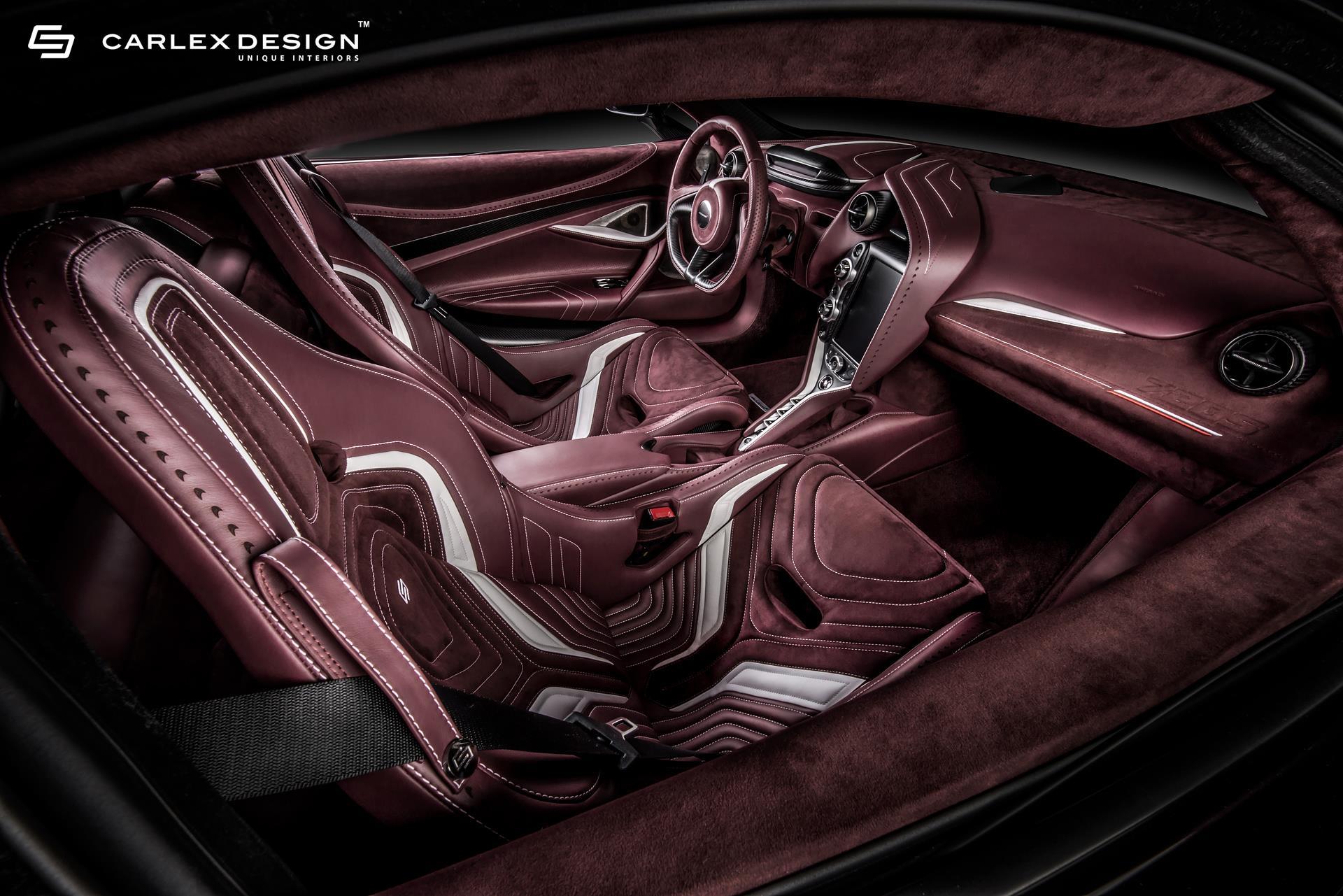 Mclaren 720s Gets Stunning Interior By Carlex Design