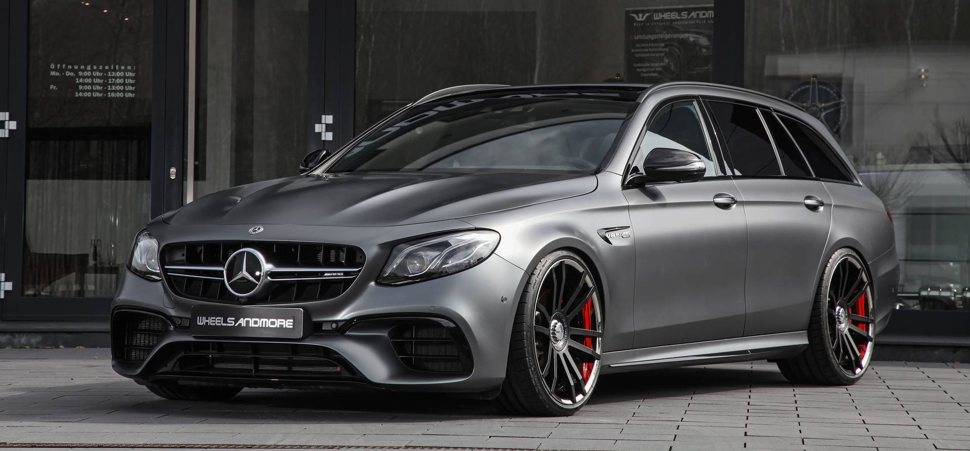 712hp for the mercedes amg e63 s estate by wheelsandmore gtspirit. Black Bedroom Furniture Sets. Home Design Ideas