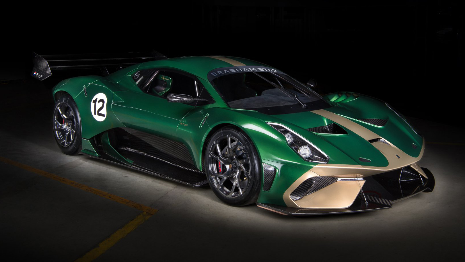 Brabham reveals £1 million track vehicle