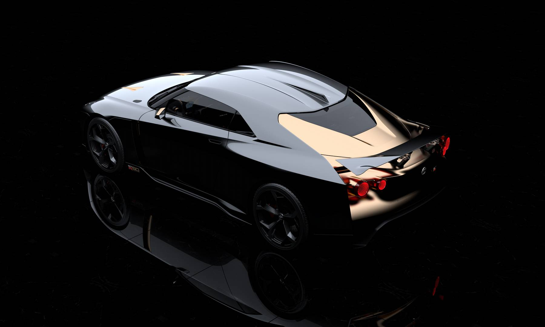 nissan gt r50 by italdesign 50 years of the gt r gtspirit. Black Bedroom Furniture Sets. Home Design Ideas