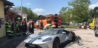 Ford GT Fire in Germany