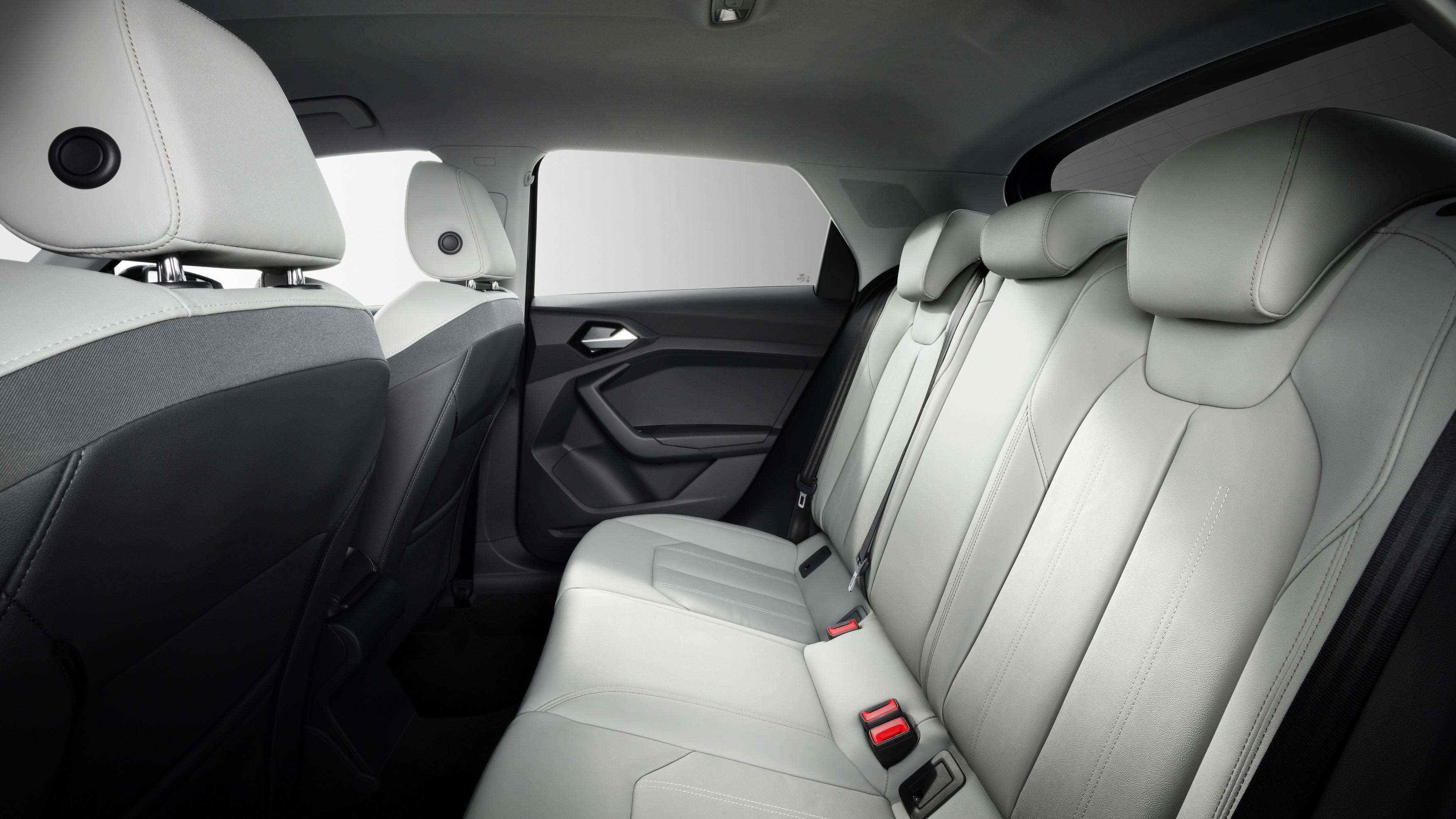 Audi A1 Sportback Rear Seats