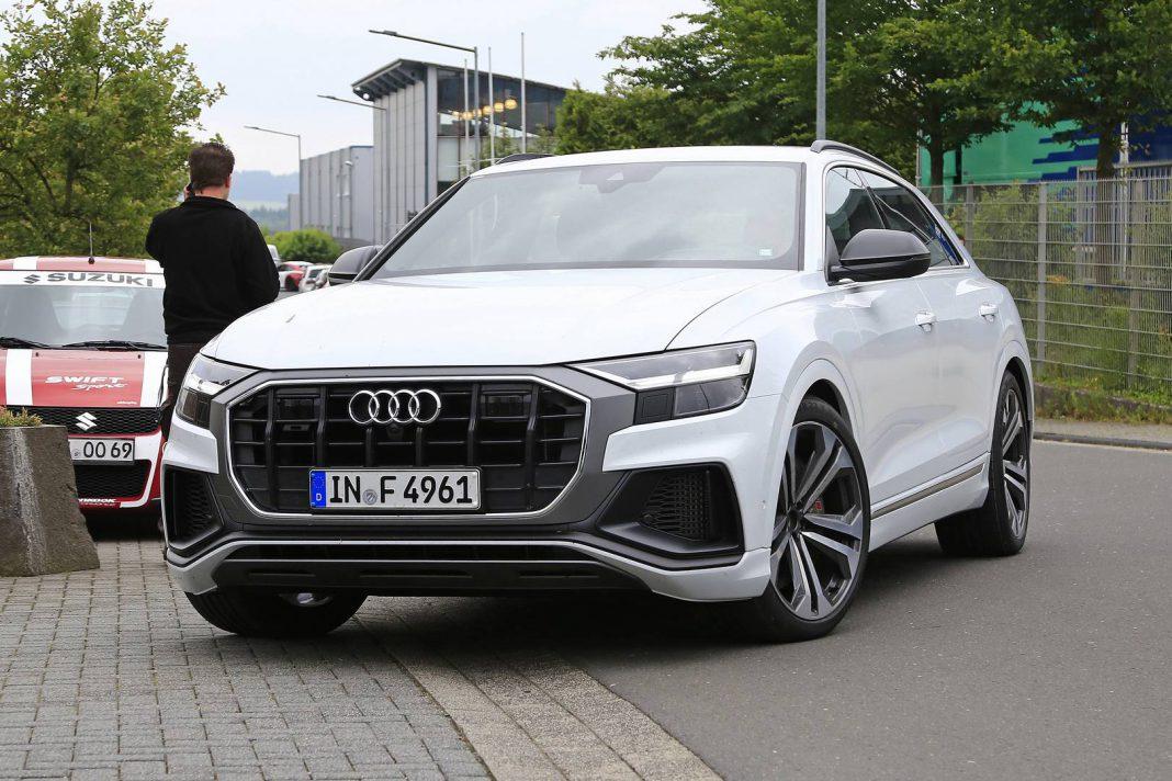 Audi SQ8 Spotted Testing at Nürburgring Wearing TDI Badges ...
