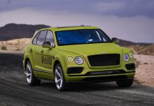 Bentley Bentayga at Pikes Peak