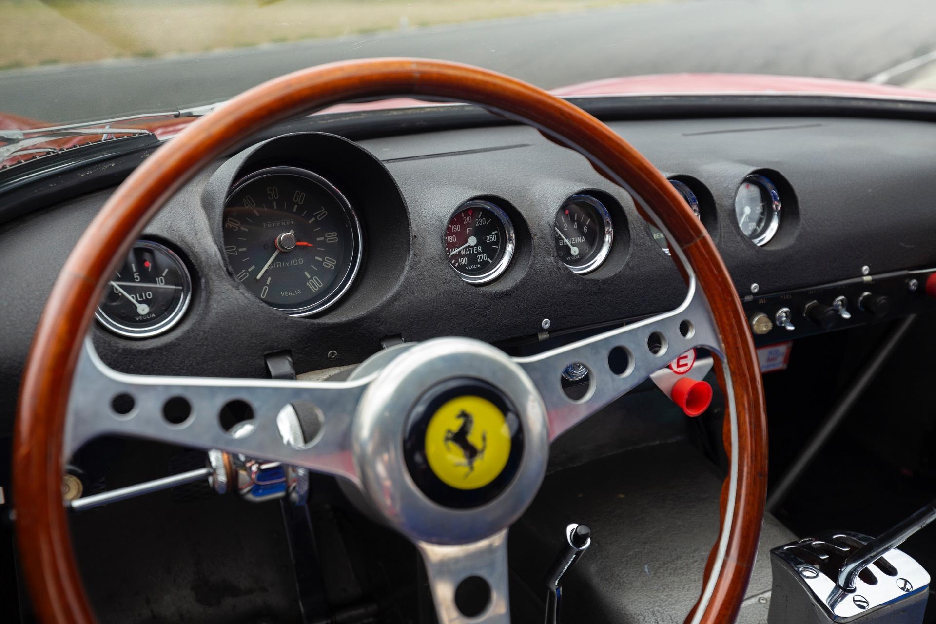 Ferrari 250 GTO RM Sothebys Steering Wheel