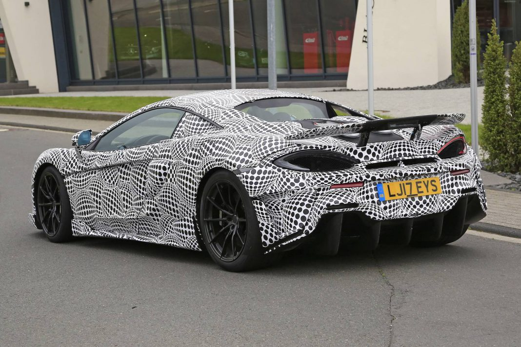 mclaren 600lt spy shots goodwood 2018 debut gtspirit. Black Bedroom Furniture Sets. Home Design Ideas