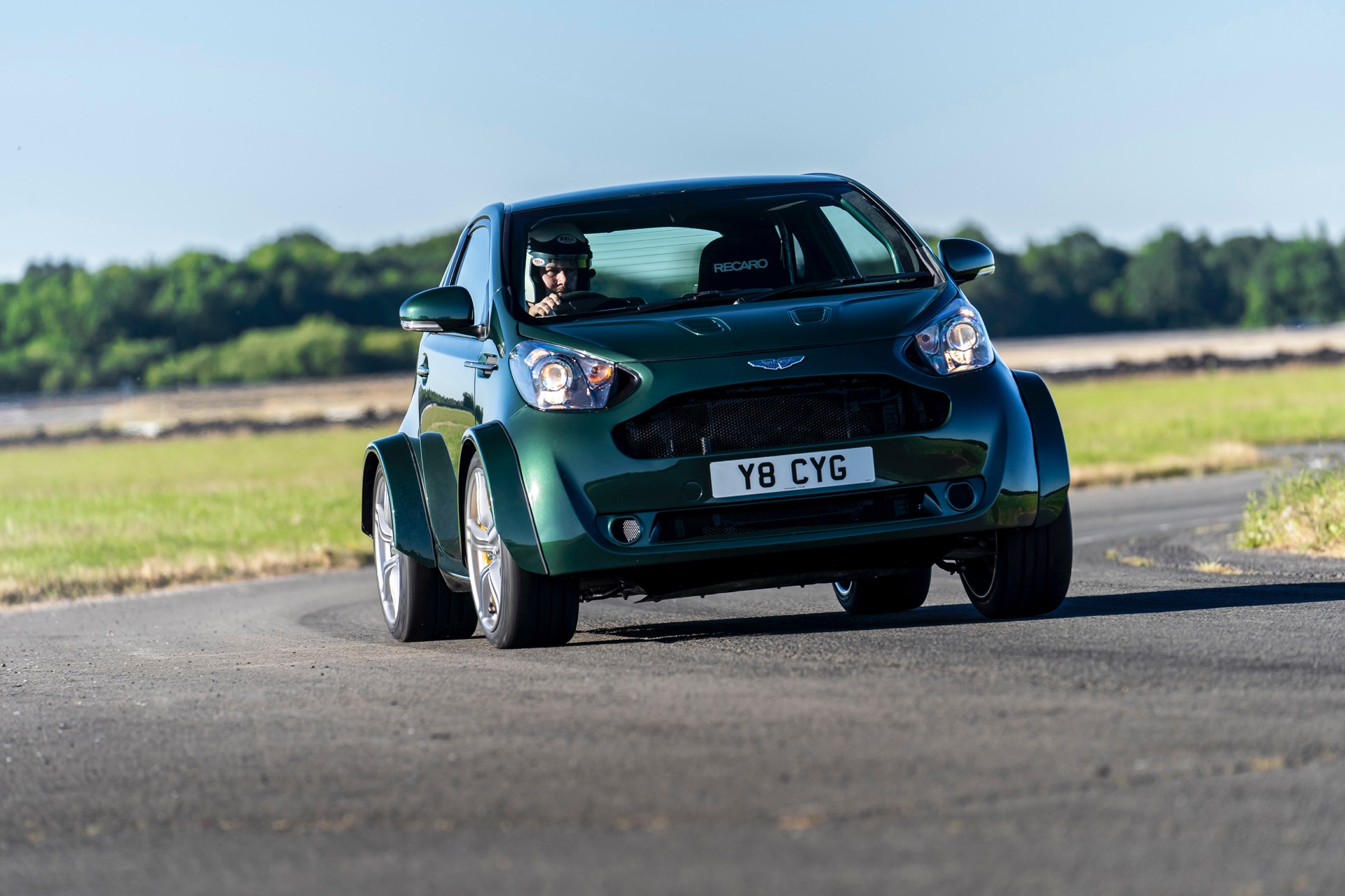 Aston Martin V8 Cygnet Debuts at Goodwood
