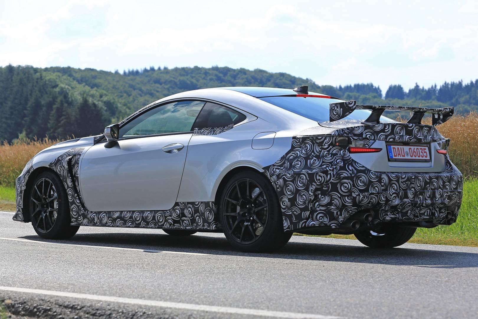 2019 Lexus RC F GT Spy Shots Emerge