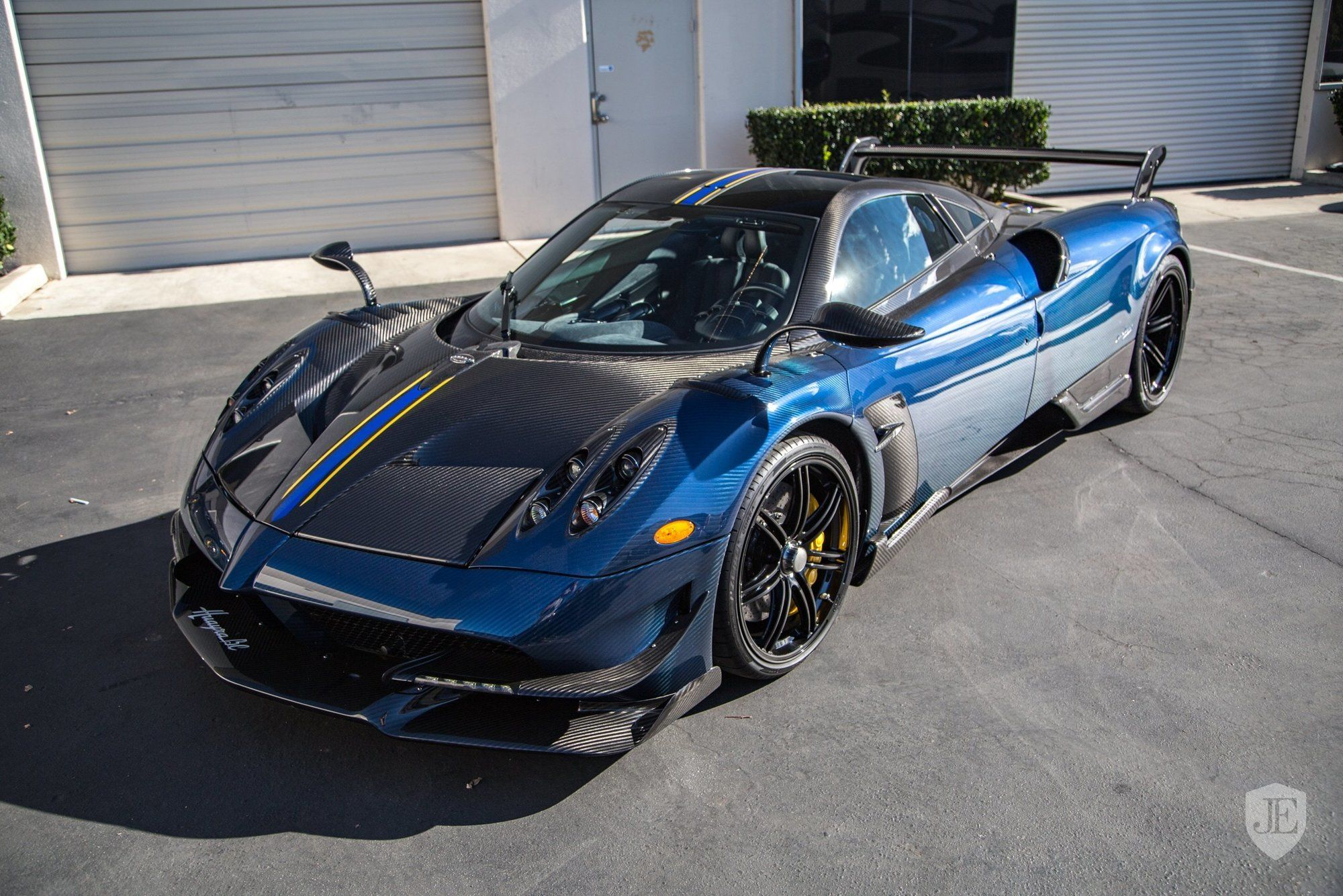 One Of Twenty Pagani Huayra Bc For Sale In The Us Gtspirit