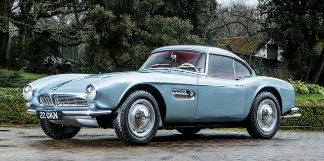 1957 BMW 507 Roadster Auctions for $5 Million – World Record for a BMW