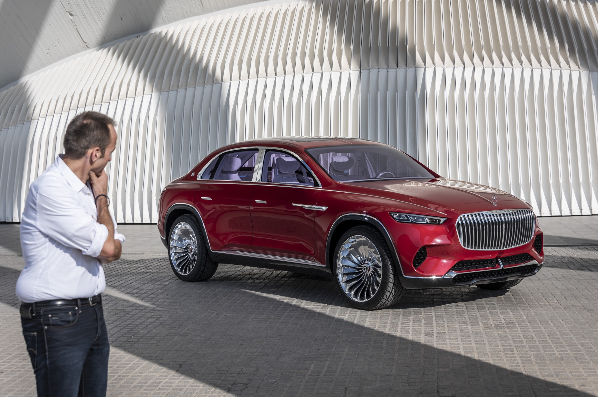 First Drive: Vision Mercedes-Maybach Ultimate Luxury Concept