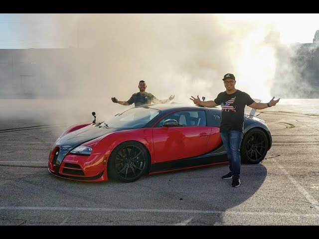 US Owner Converts Bugatti Veyron to Rear Wheel Drive