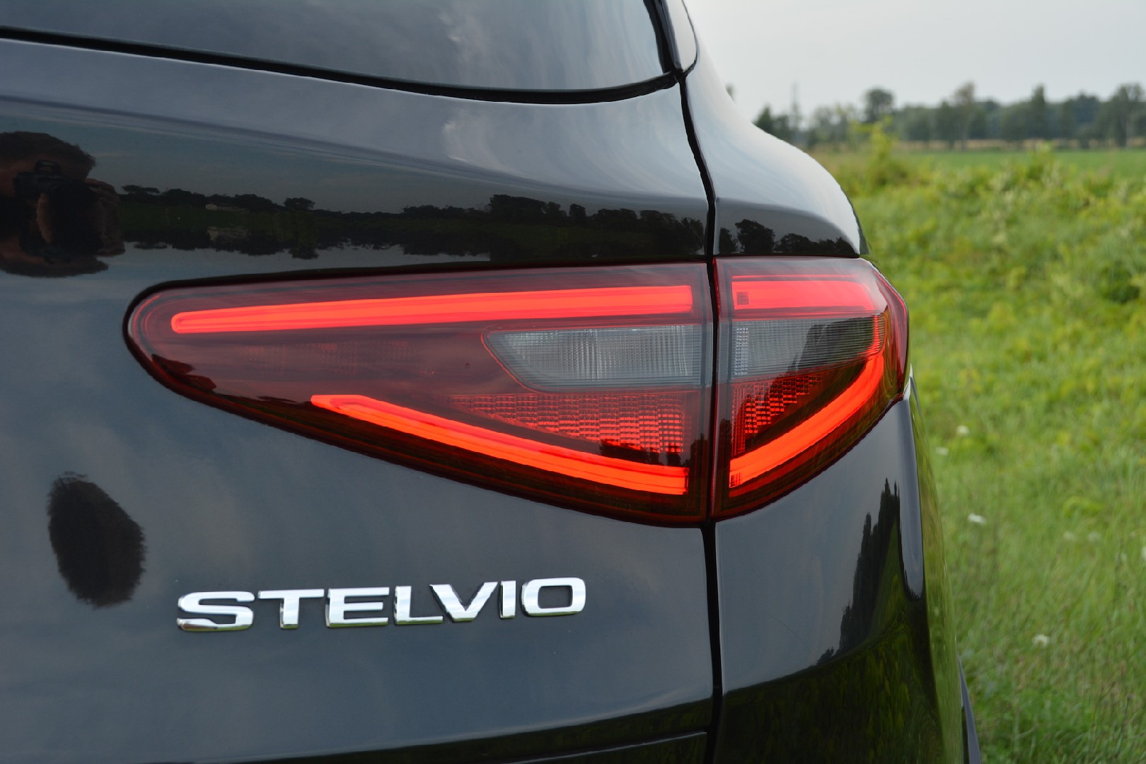 2019 Alfa Romeo Stelvio Quadrifoglio Review Gtspirit Rear End 1 Of 40 So