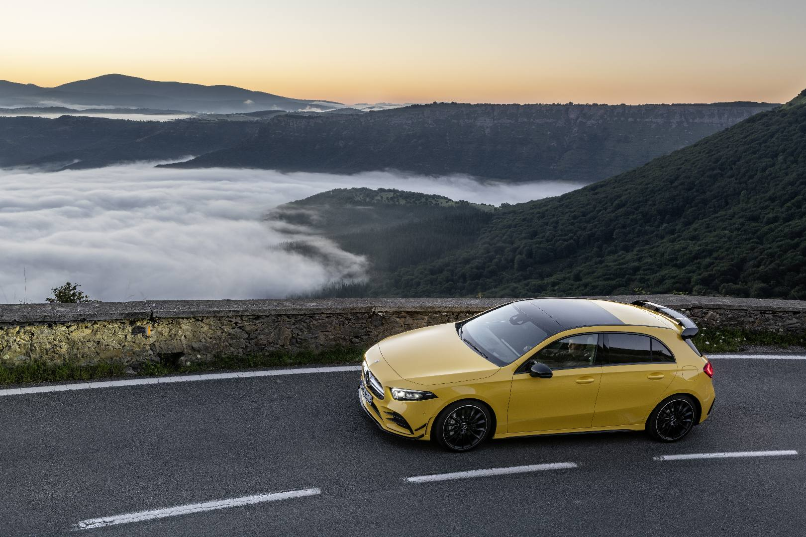 Hot Mercedes-AMG A35 revealed ahead of Paris debut