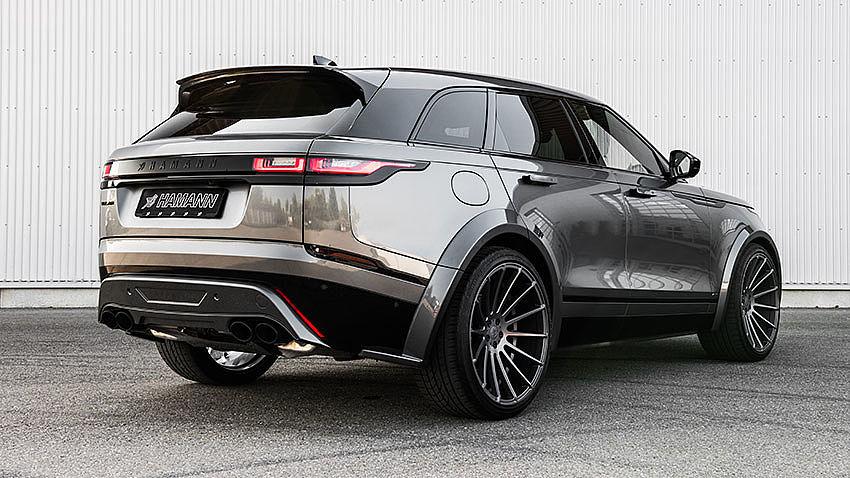 Hamann Reveals Range Rover Velar Bodykit - GTspirit