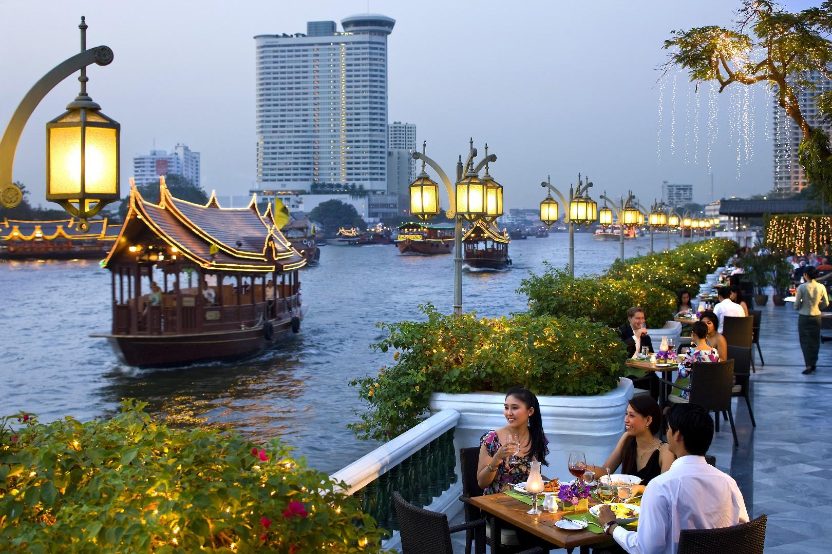 Riverside Restaurant Terrace