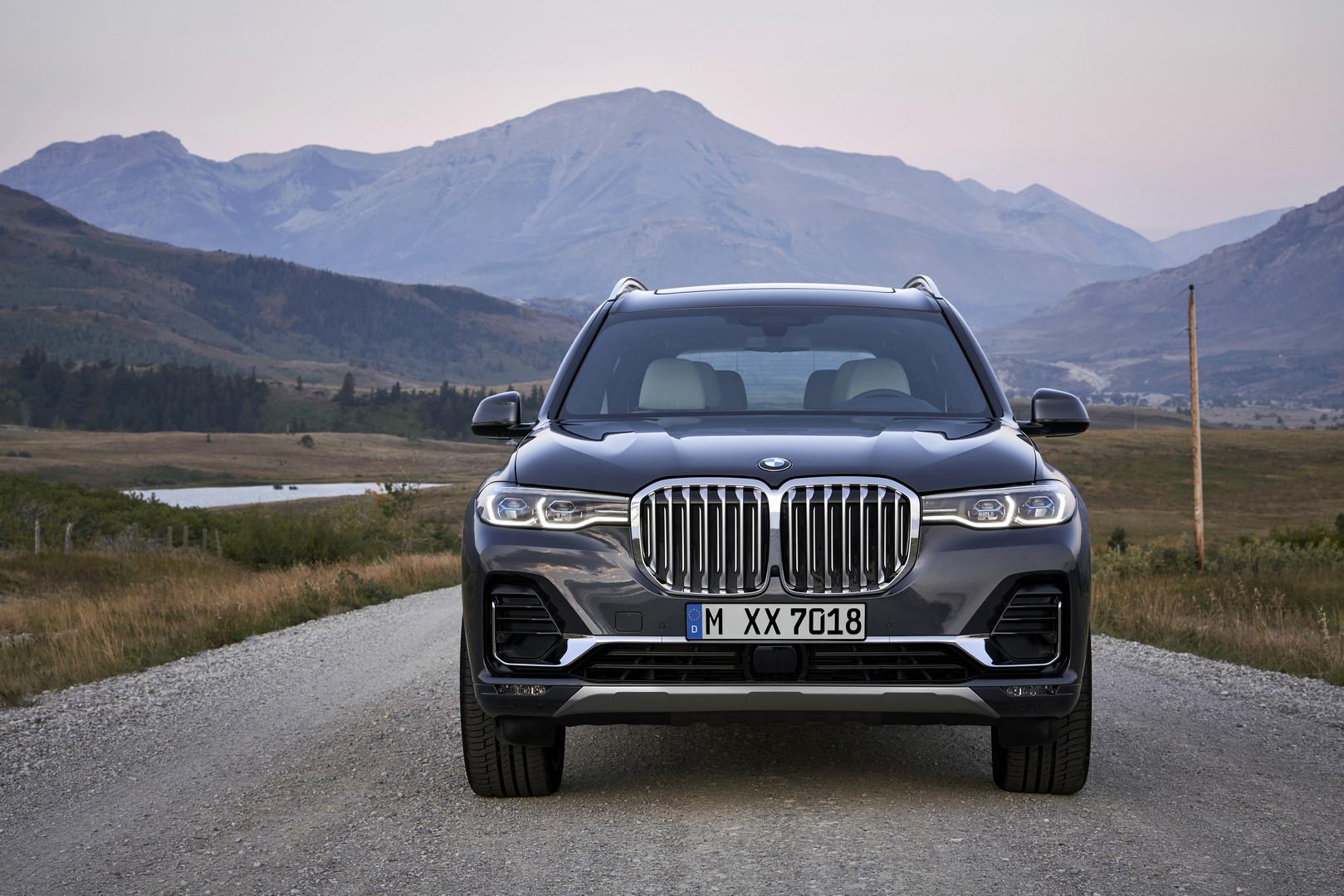 2019 BMW X7 Kidney Grill