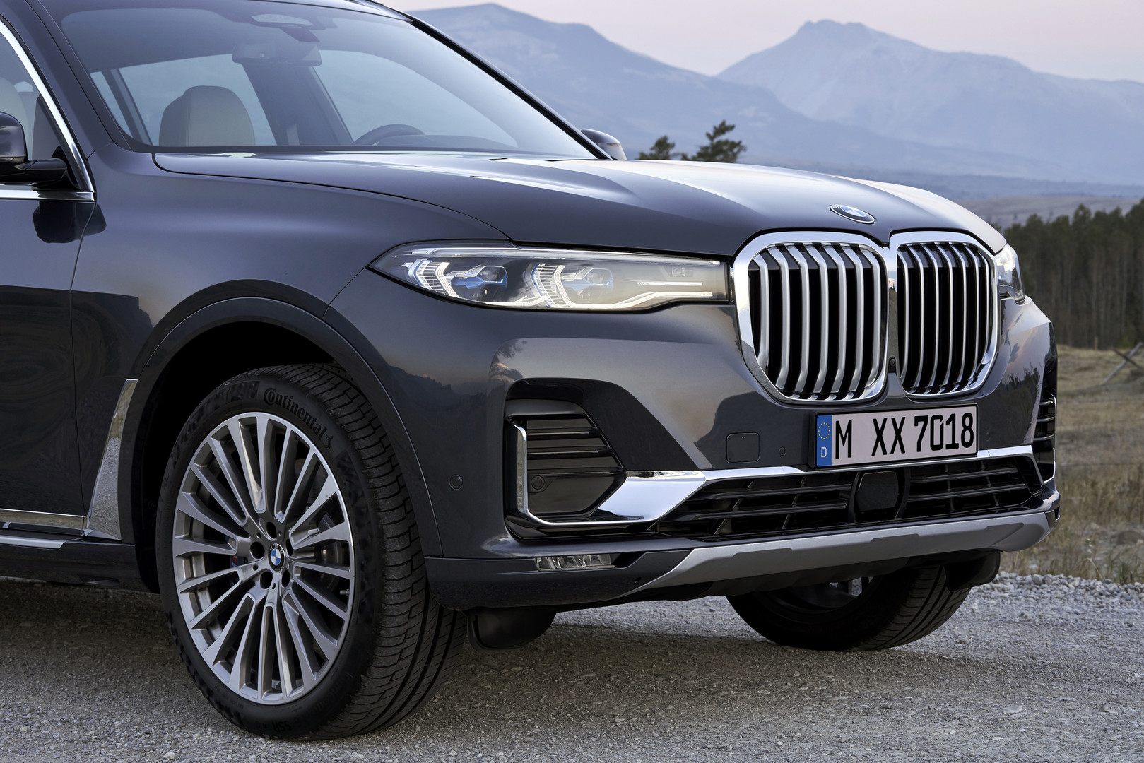 2019 BMW X7 Front
