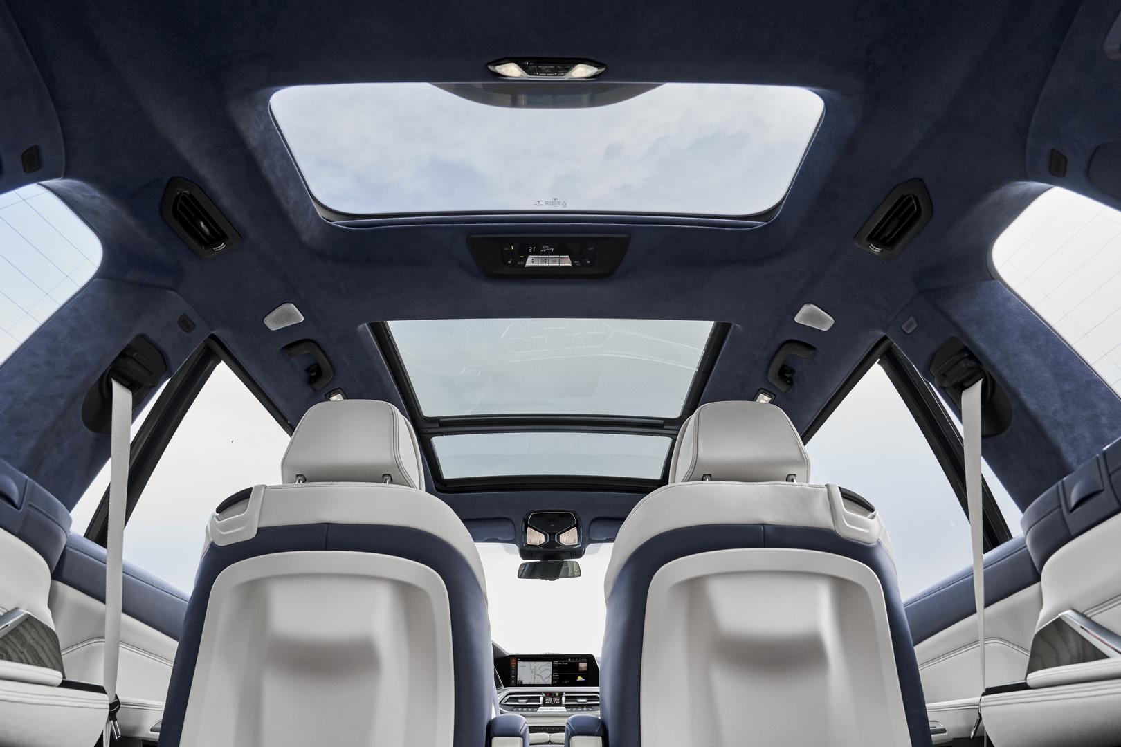 2019 BMW X7 Sunroof