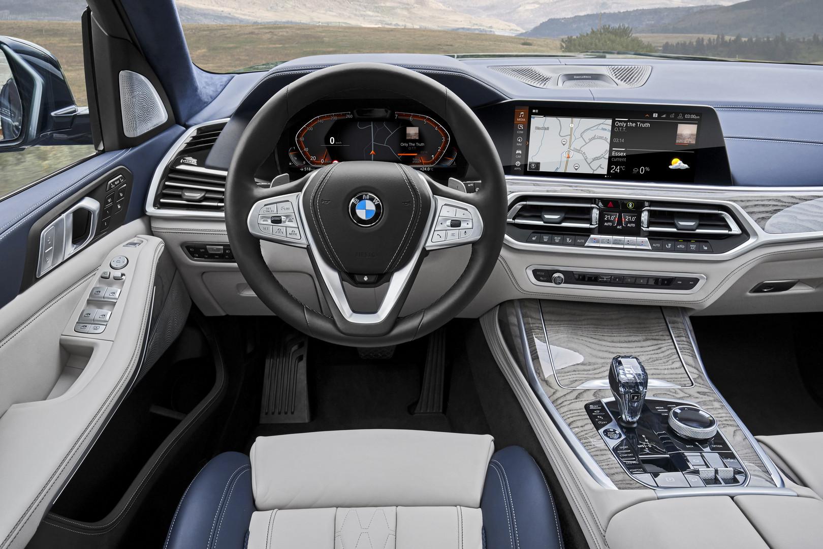 2019 BMW X7 Dashboard