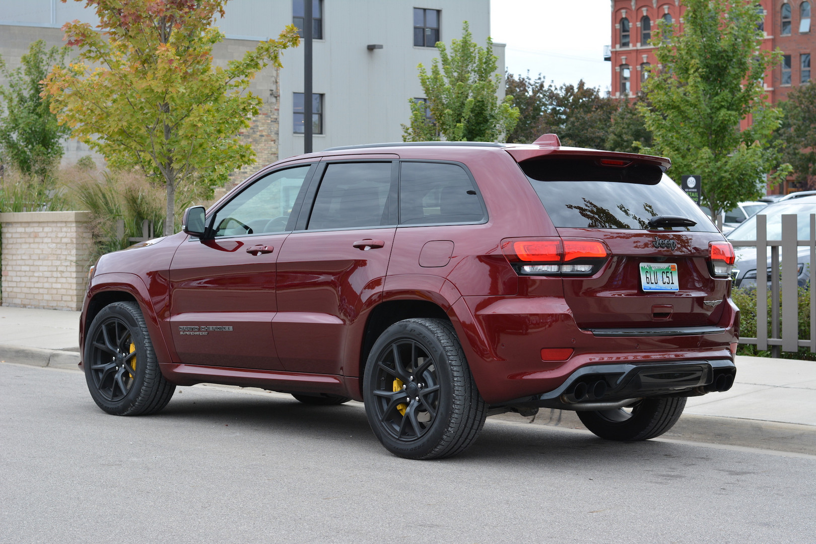 Track Hawk Grand Cherokee >> 2019 Jeep Grand Cherokee Trackhawk Review - GTspirit