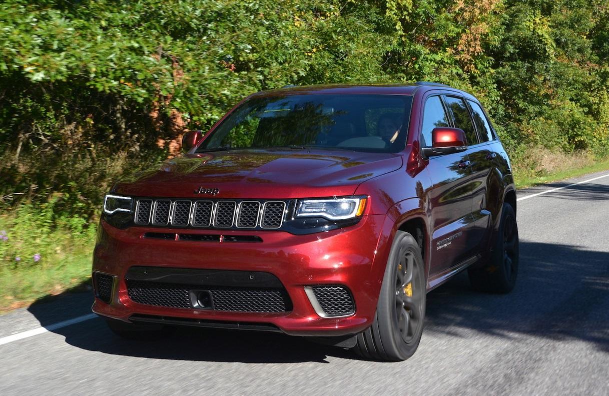Jeep Grand Cherokee Trackhawk For Sale >> 2019 Jeep Grand Cherokee Trackhawk Review - GTspirit