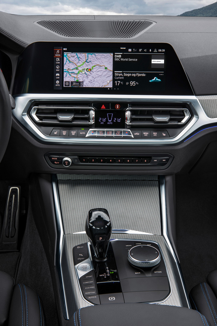 2019 BMW 3 Series G20 Interior