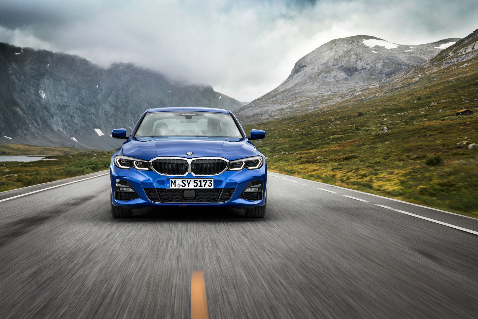 2019 BMW 3 Series G20 Front Blue