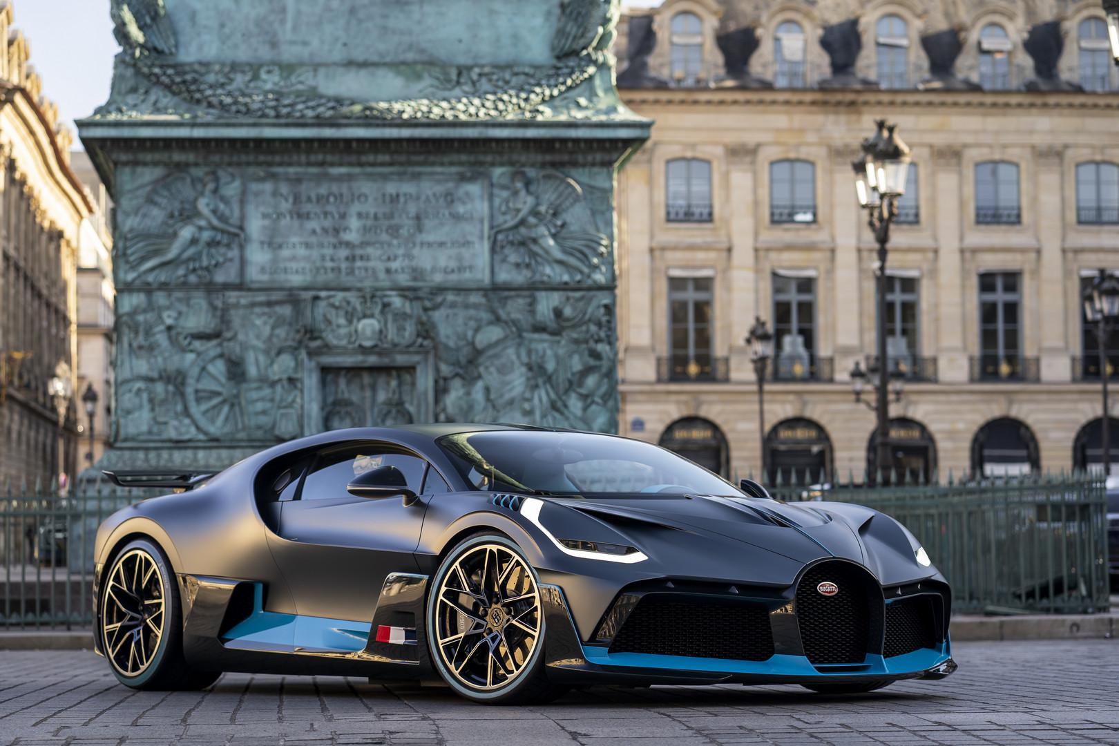 Bugatti Divo Front View