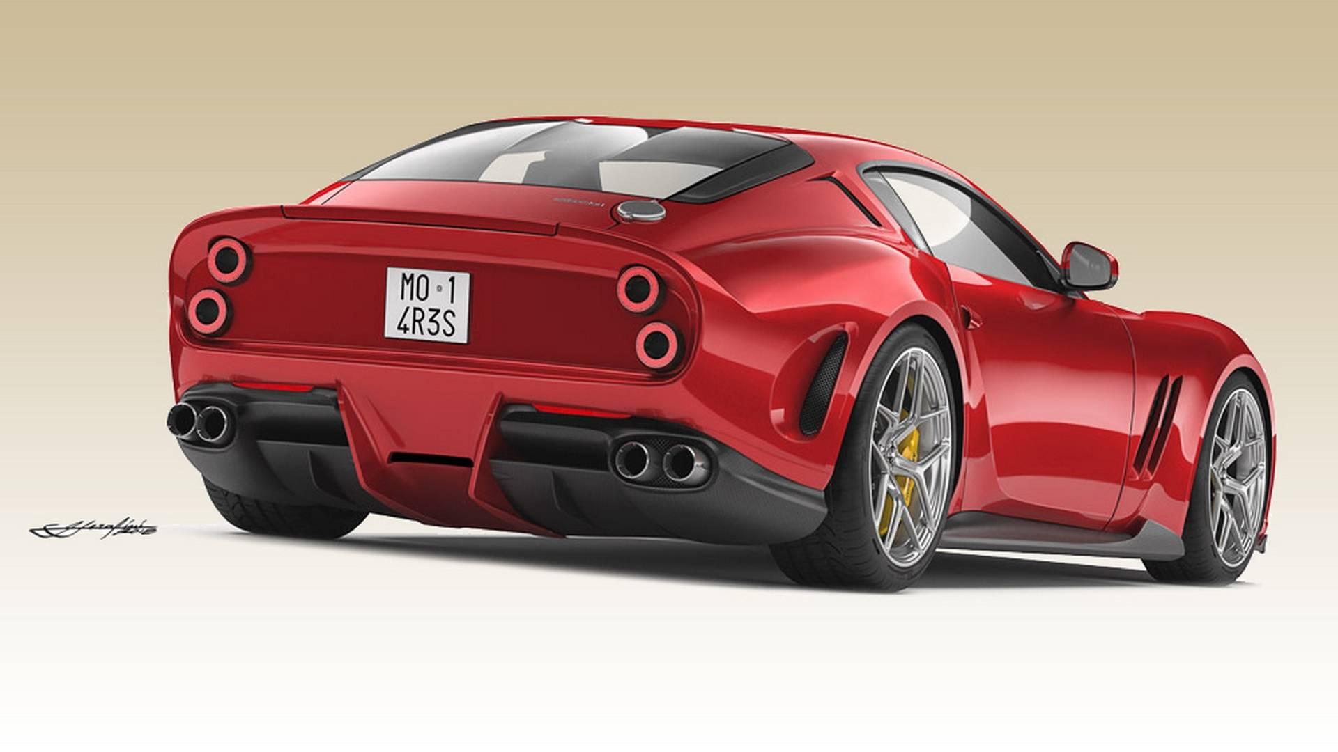 Coachbuilt Ferrari 250 Gto Revealed Based On 812