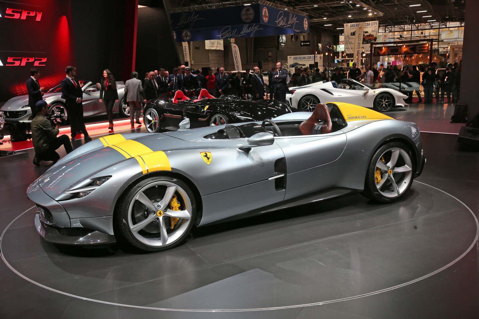 details emerge about ferrari monza cost and production run gtspirit. Black Bedroom Furniture Sets. Home Design Ideas