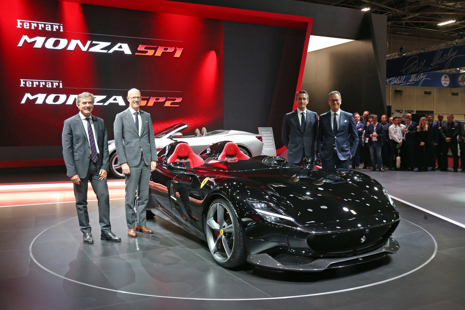 Ferrari Monza SP2 Black