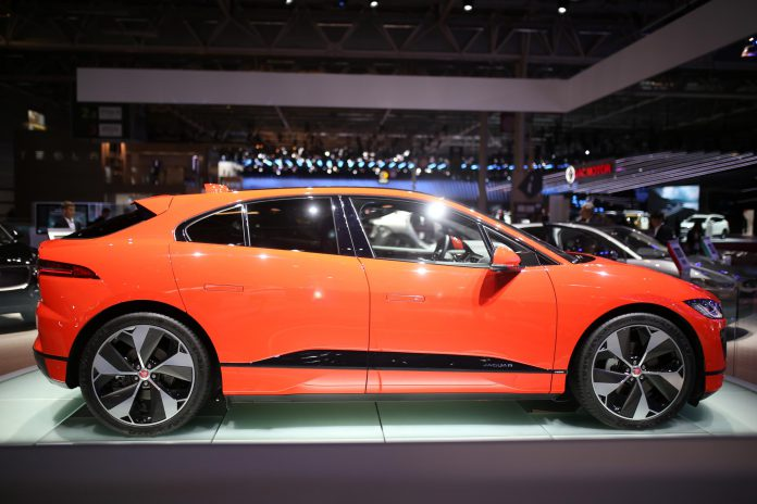 Jaguar i-Pace side view