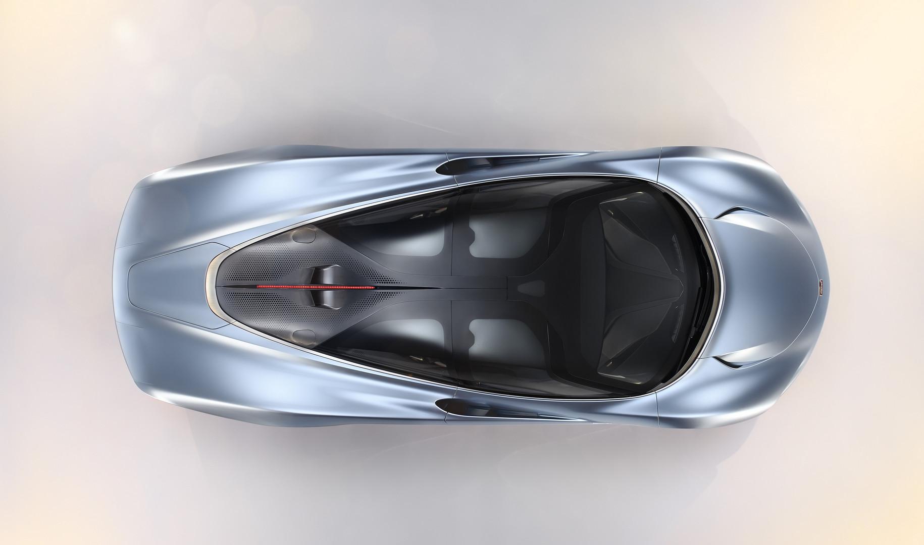 McLaren Speedtail Aerial View