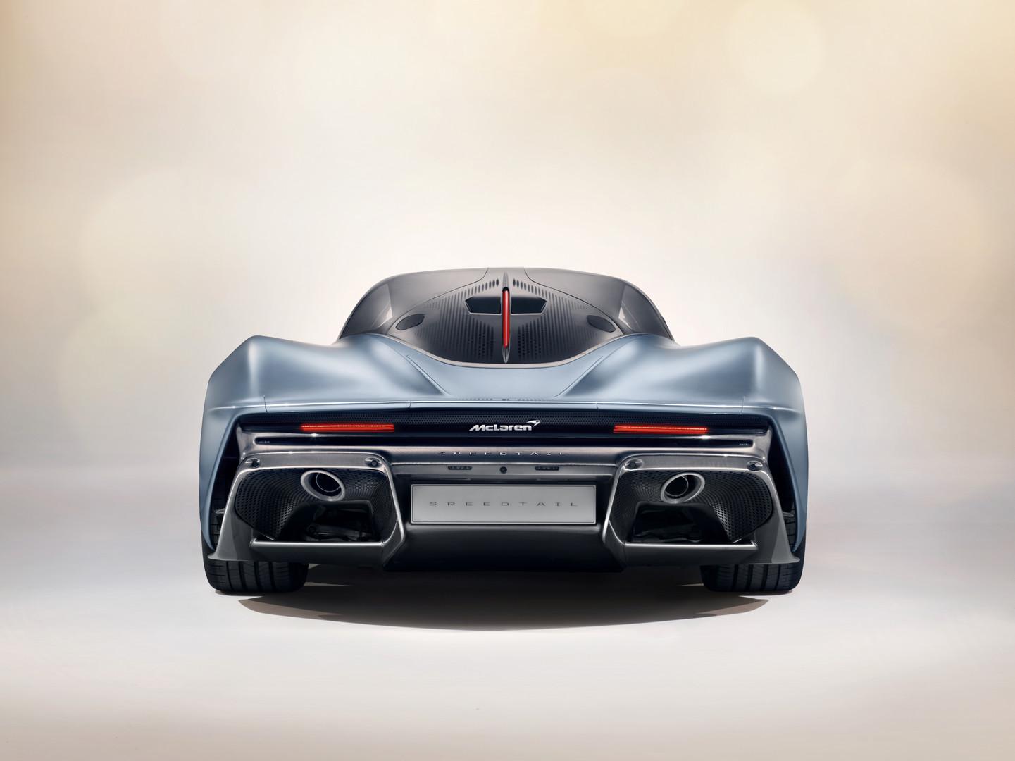 McLaren Speedtail Rear View