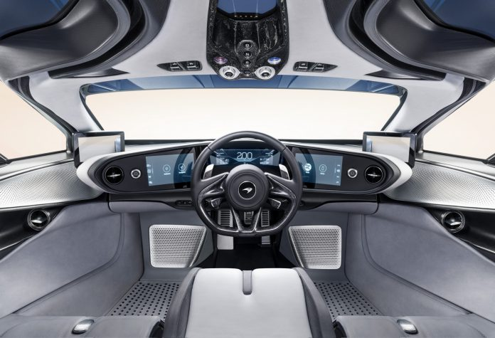 McLaren Speedtail Cockpit