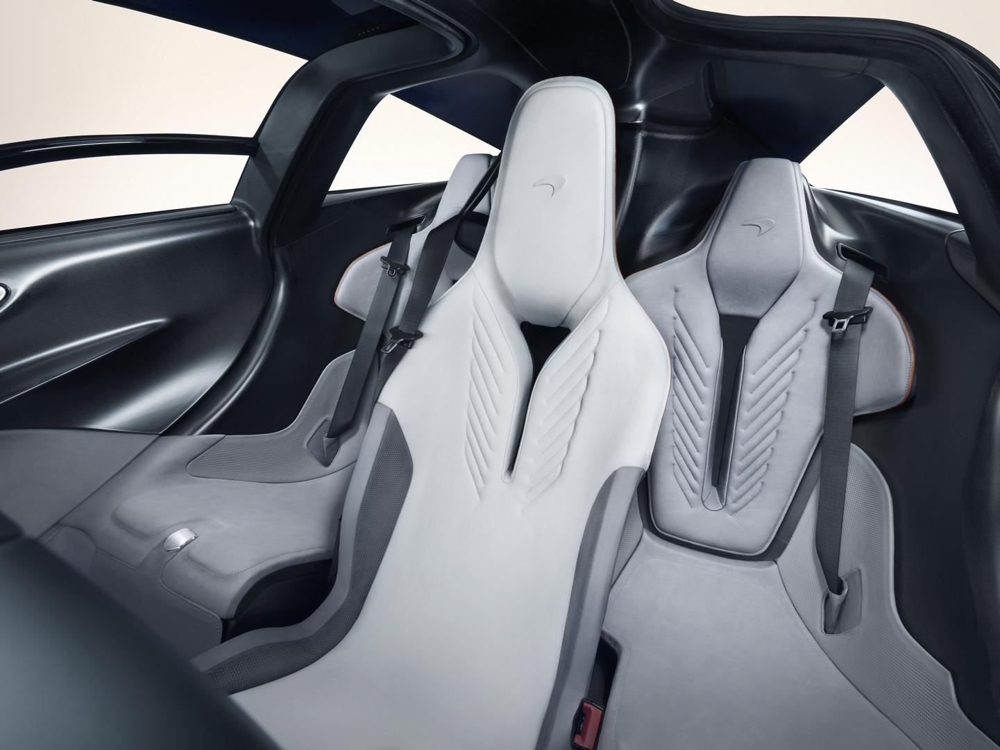 McLaren Speedtail Seats