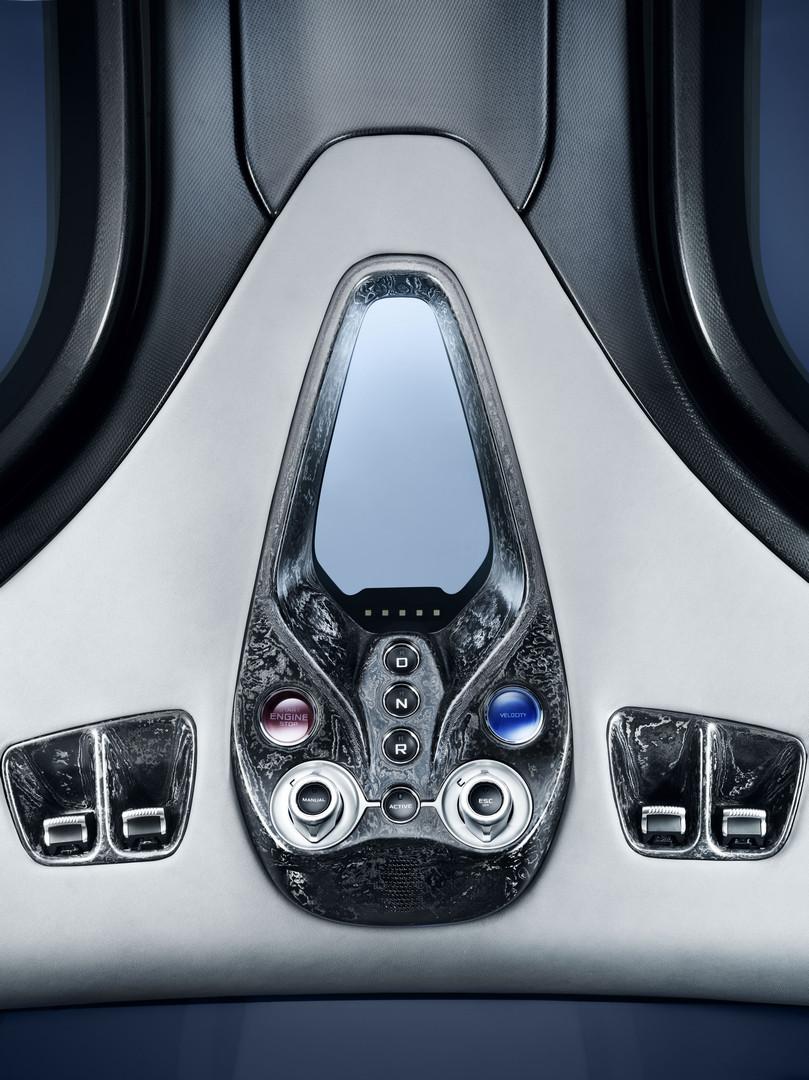 McLaren Speedtail Interior