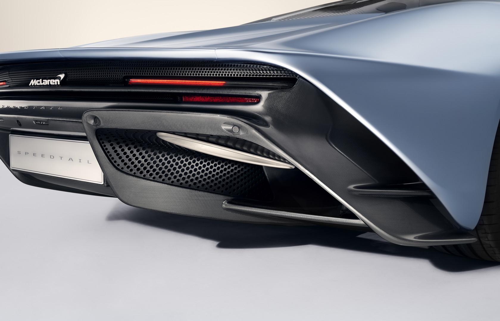 McLaren Speedtail Rear