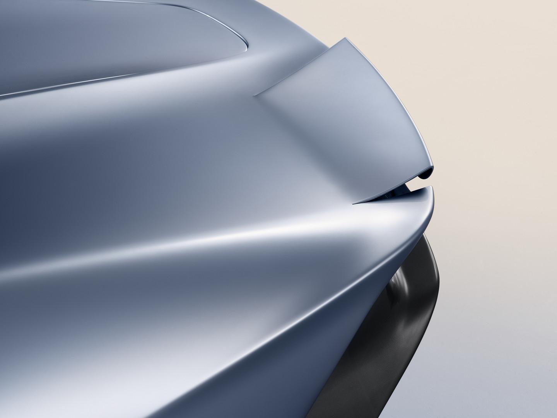 McLaren Speedtail Rear Blades