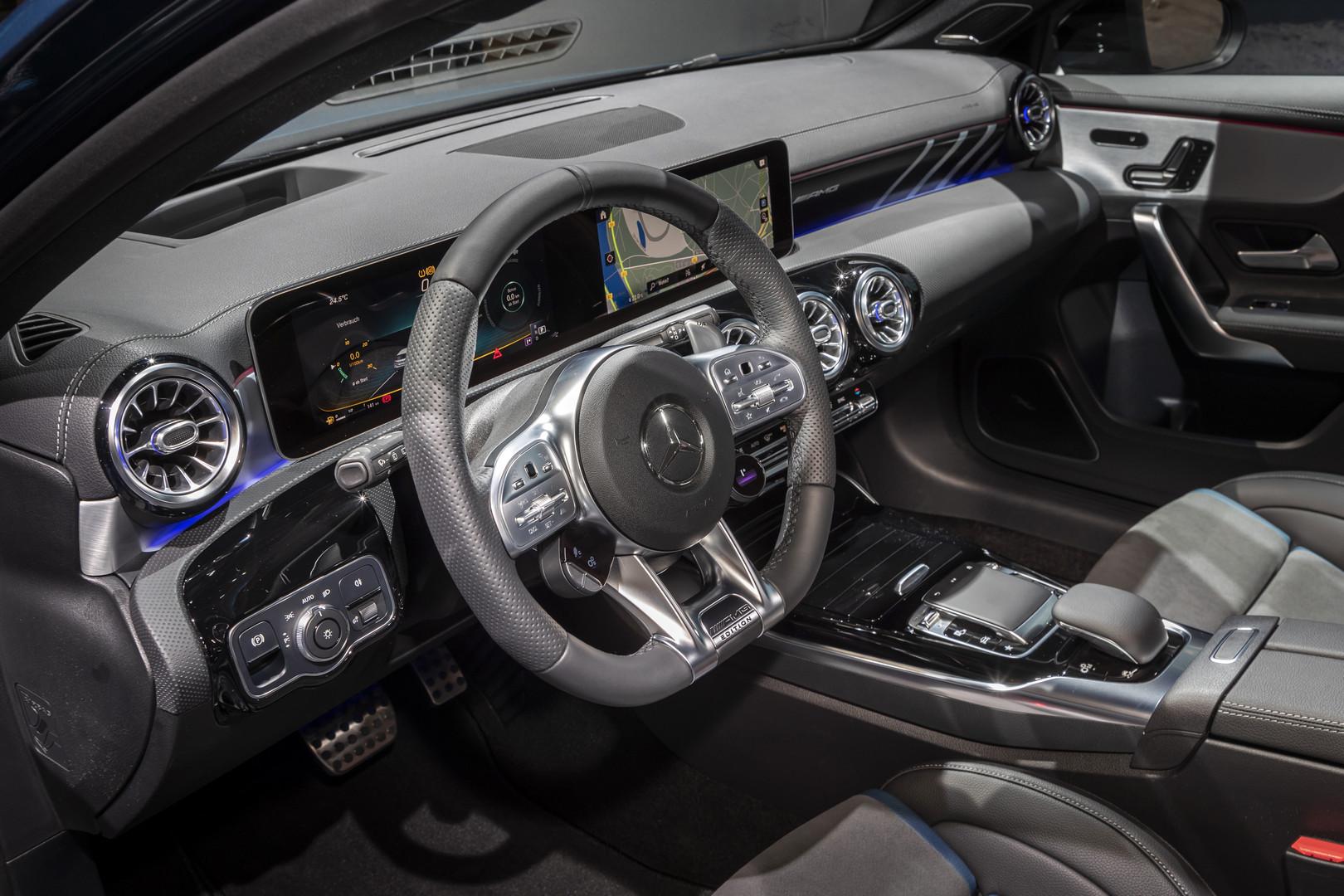 2019 Mercedes-AMG A35 Interior